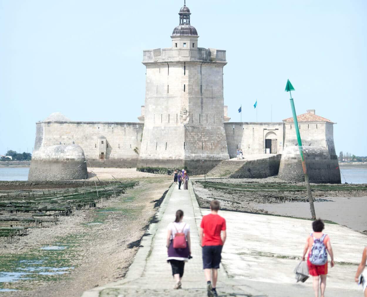 walking to Fort Louvois