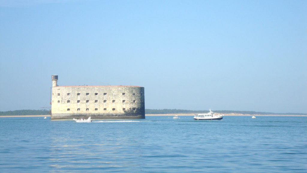 View of Fort Boyard
