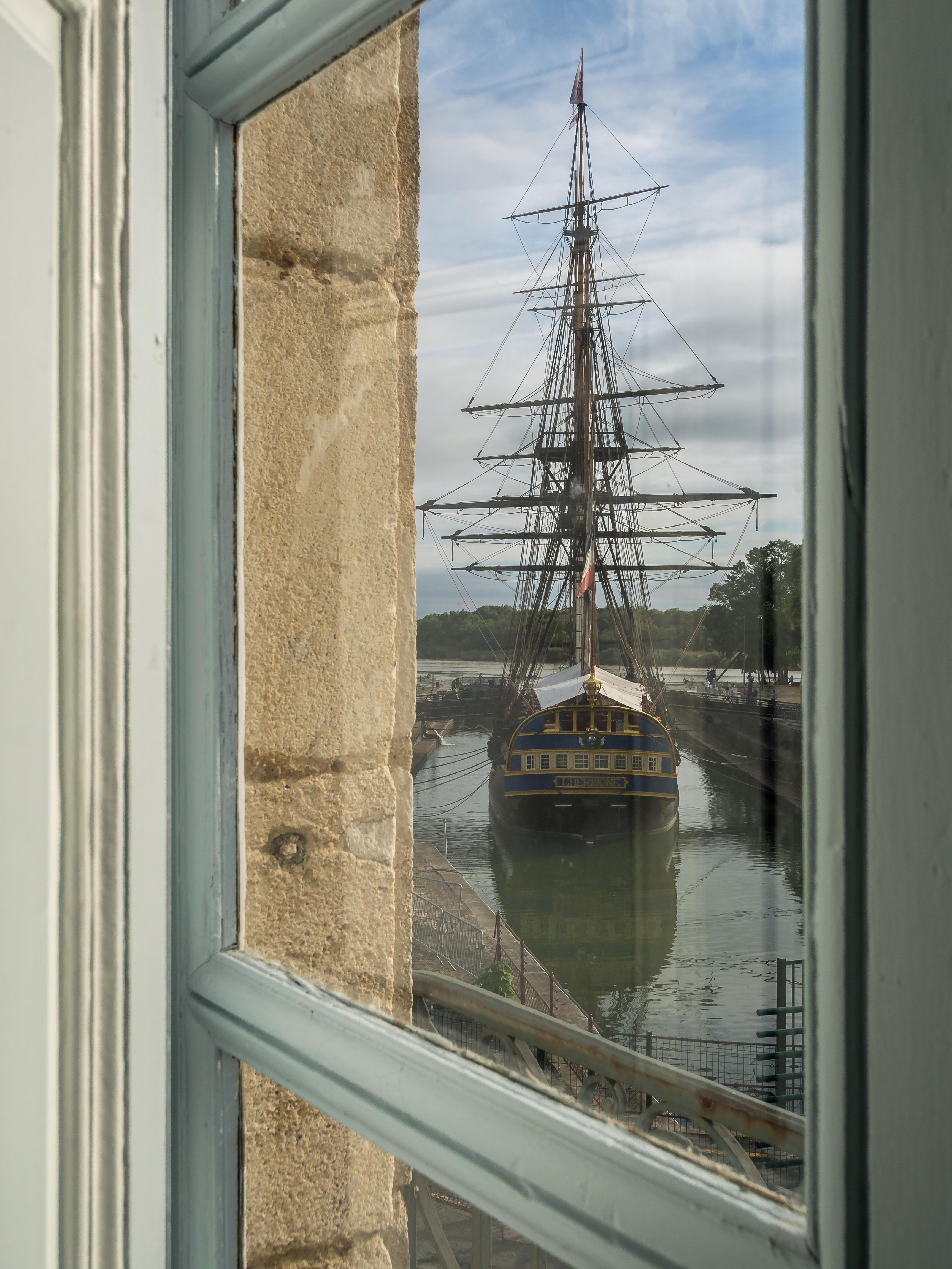 museum of marine Rochefort L'Hermione