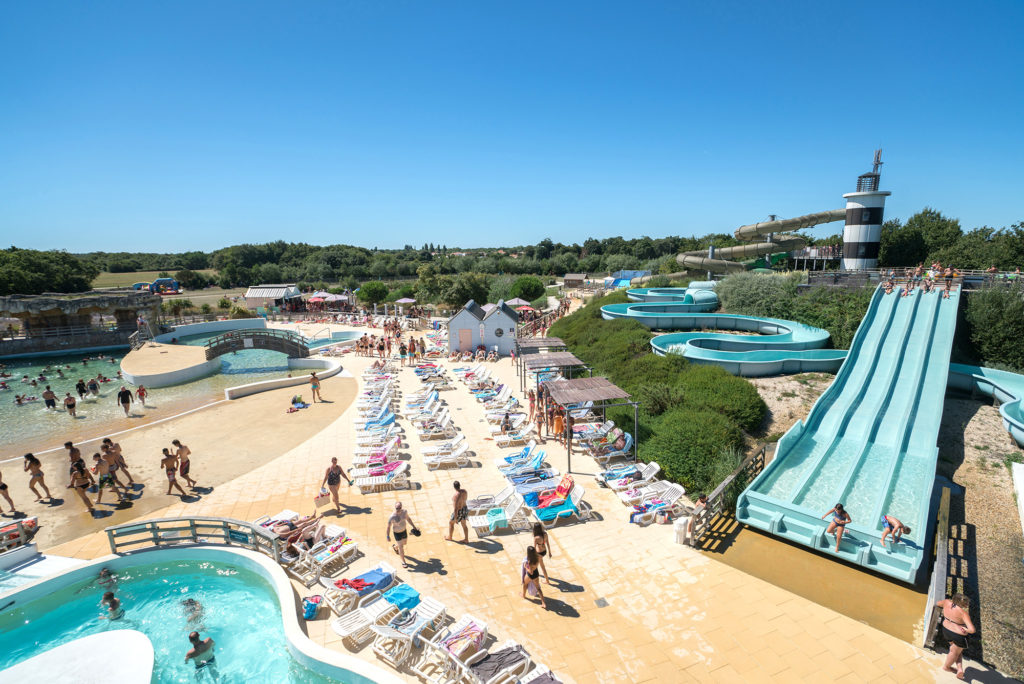 Iléo, water park in Dolus d'Oléron in France