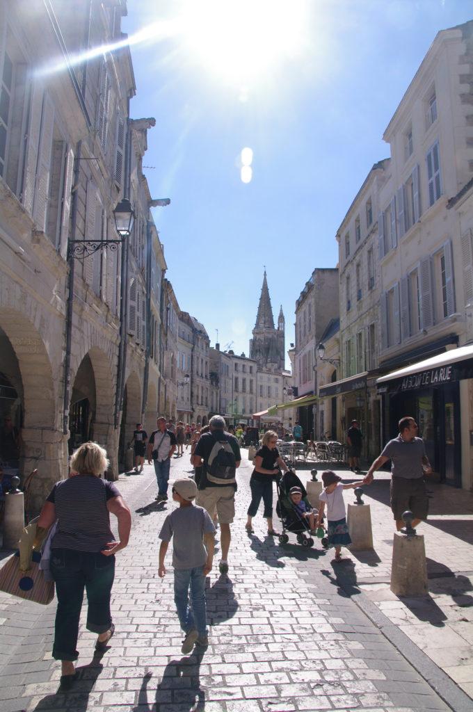 Quartier des Arcades de La Rochelle