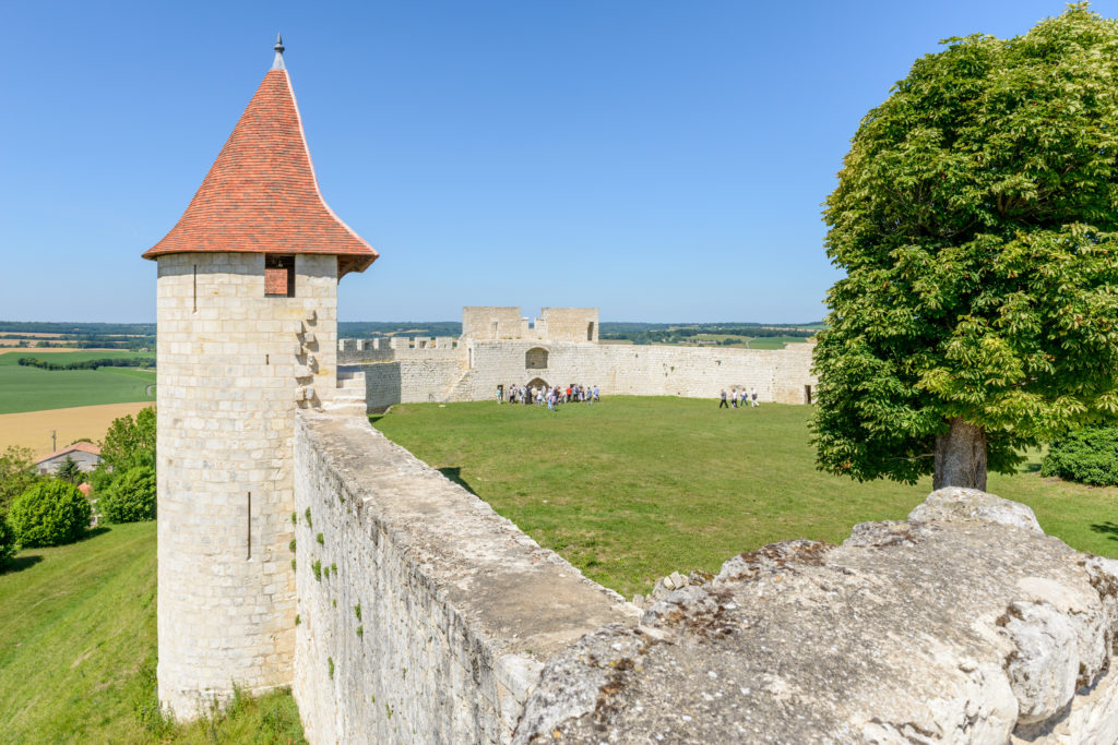 castle of Villebois-Lavalette in France
