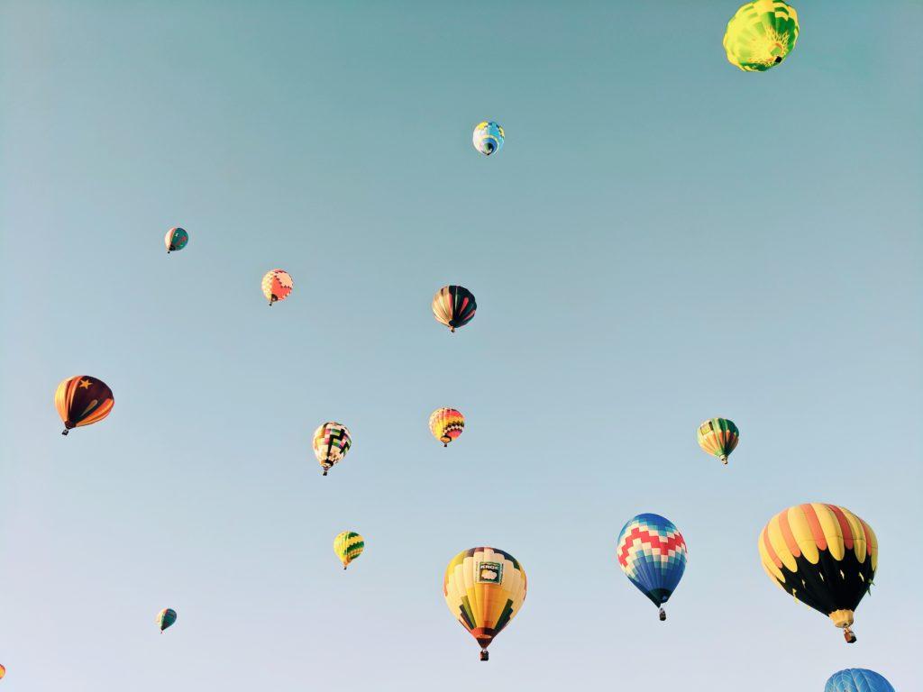 hot air balloon Cognac