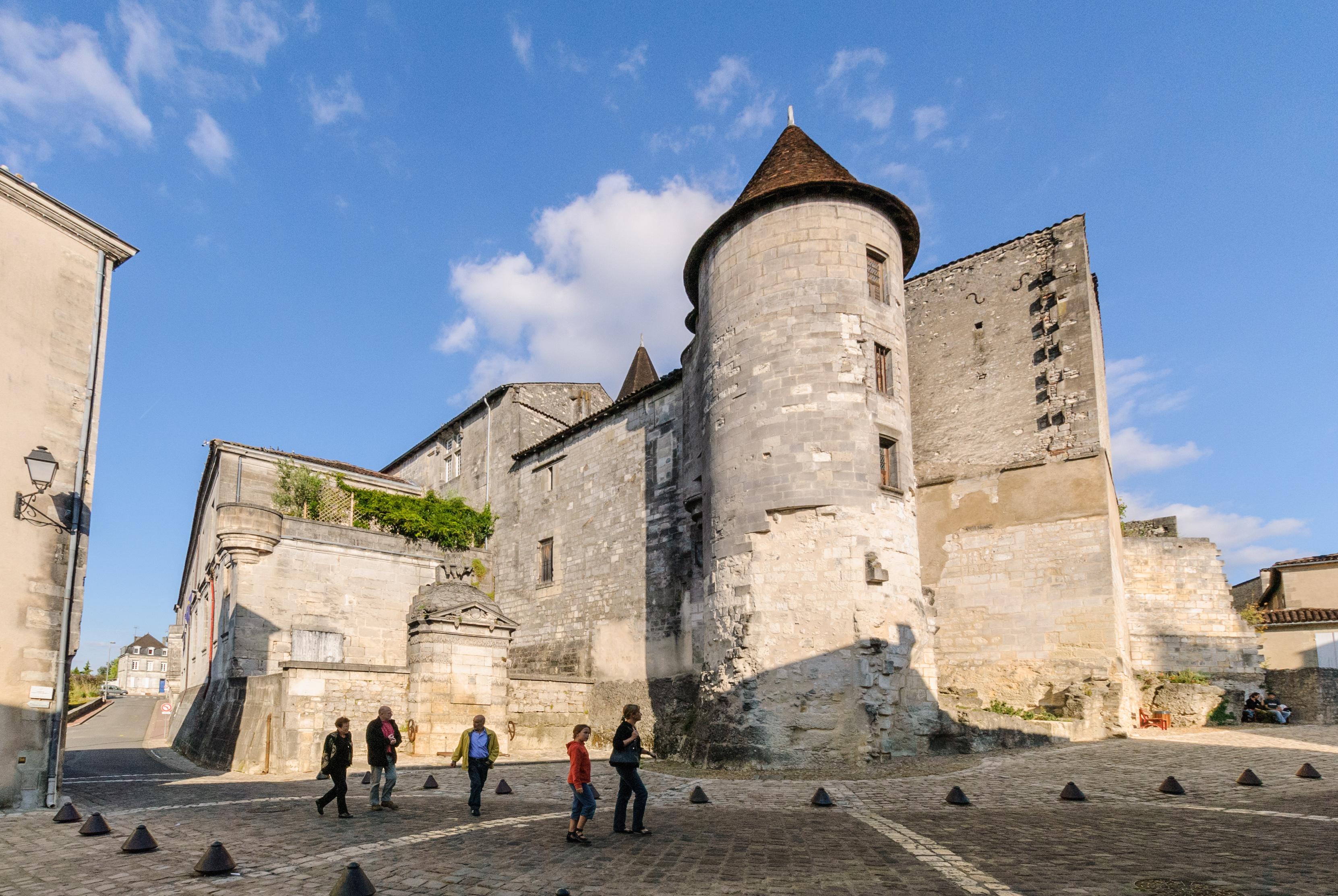 Cognac castle in France