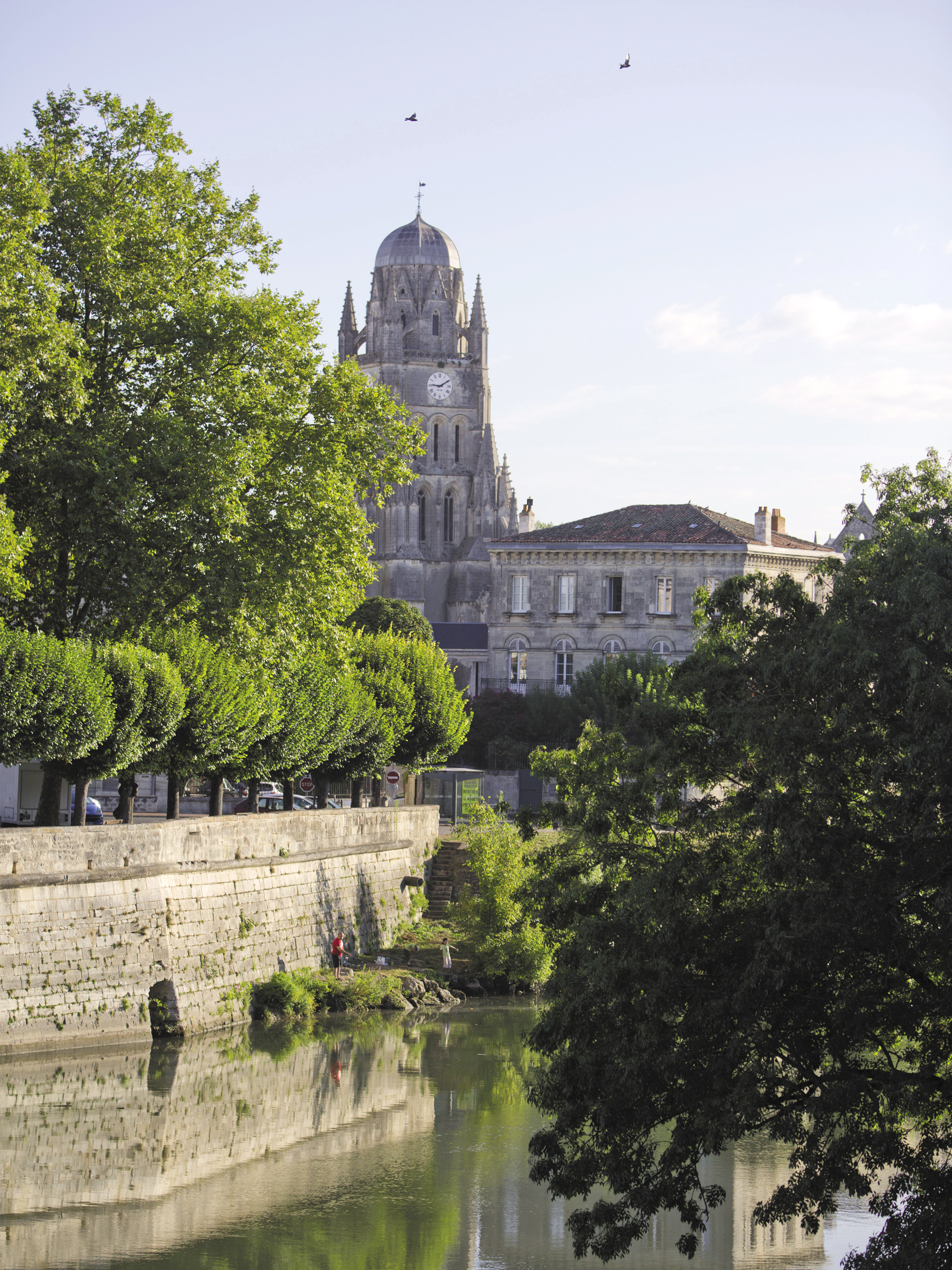 City centre of Saintes
