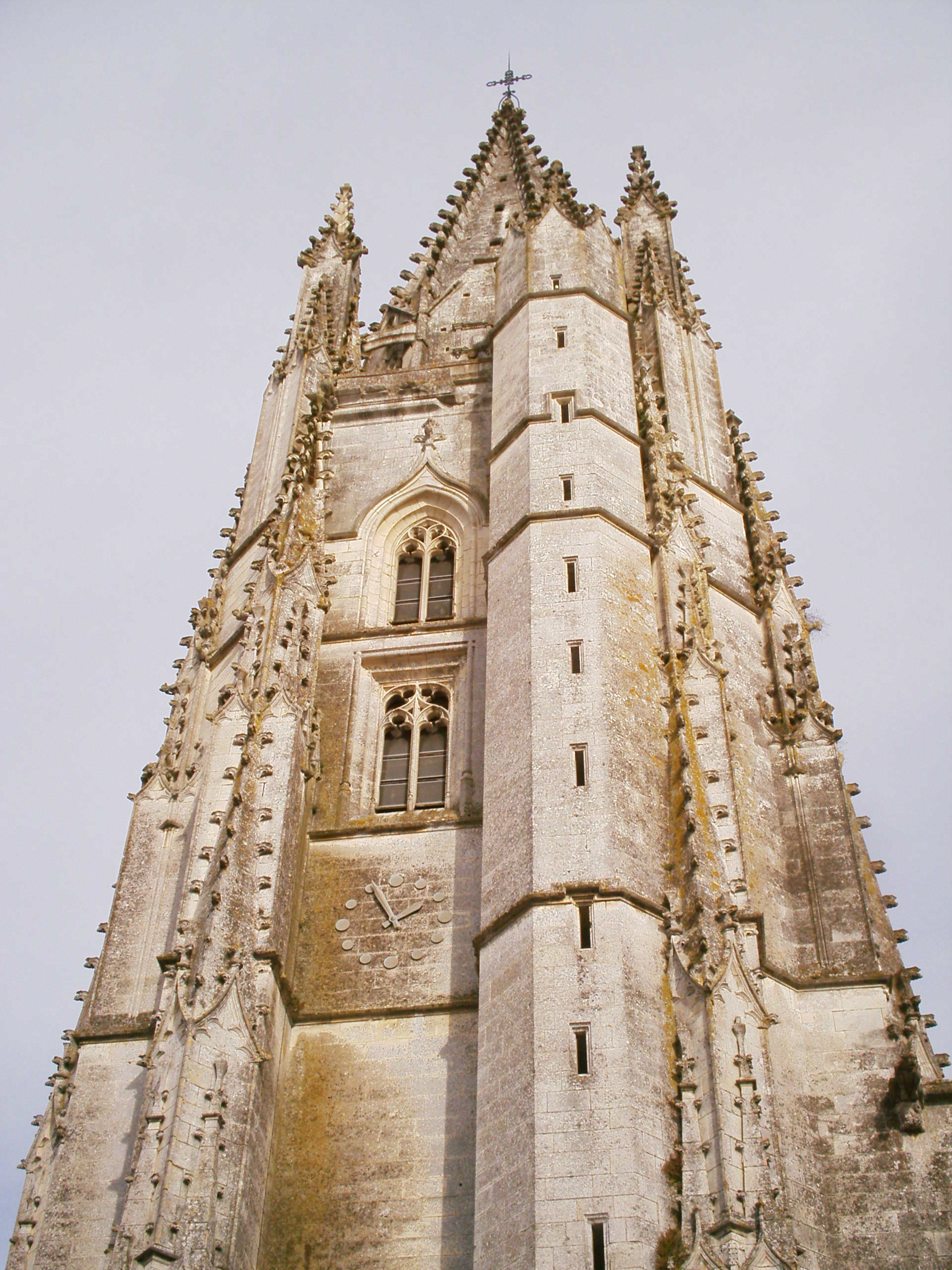 the Saint-Eutrope basilica in Saintes