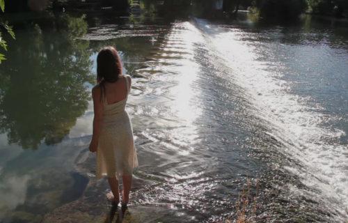 Week-end au vert, cascade sur la Charente