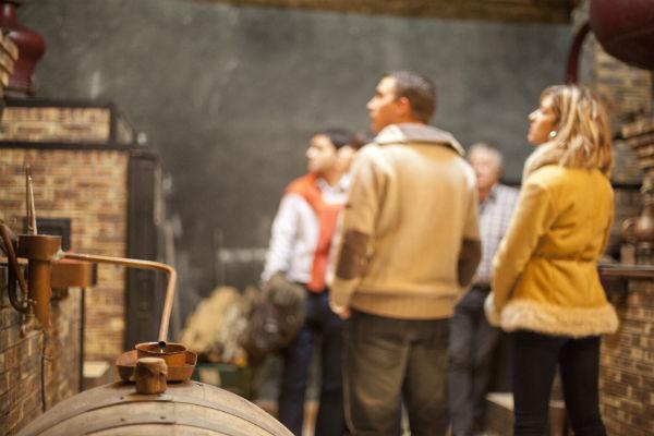 Cognac distillery