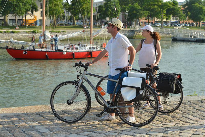 Velofrancette in La Rochelle