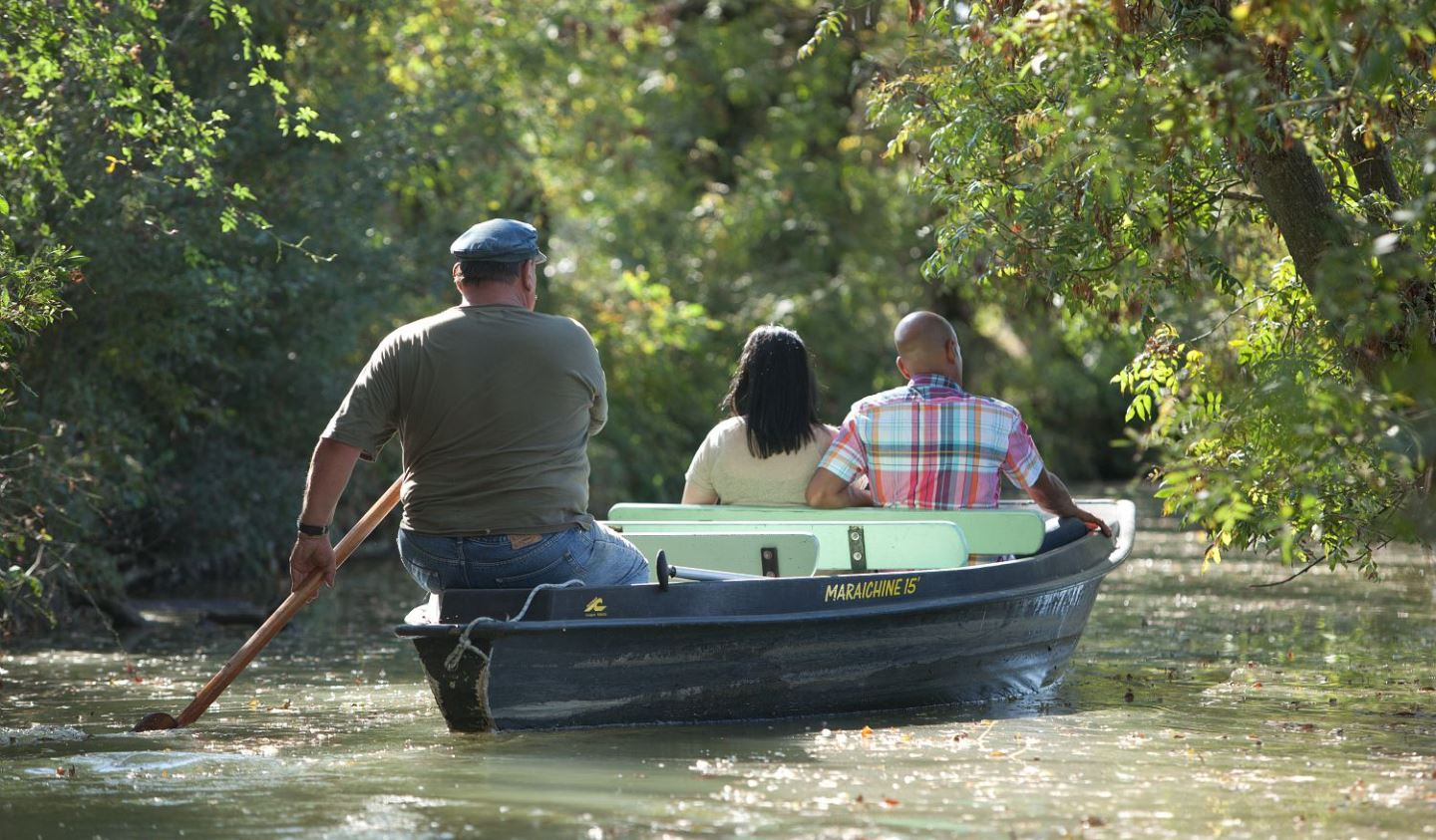 Boat tours in the Marais Poitevin in France