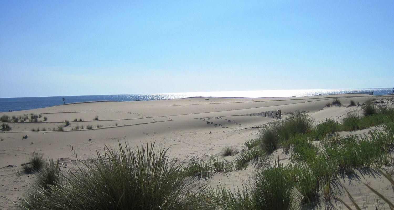 a beach on the French Atlantic Coast