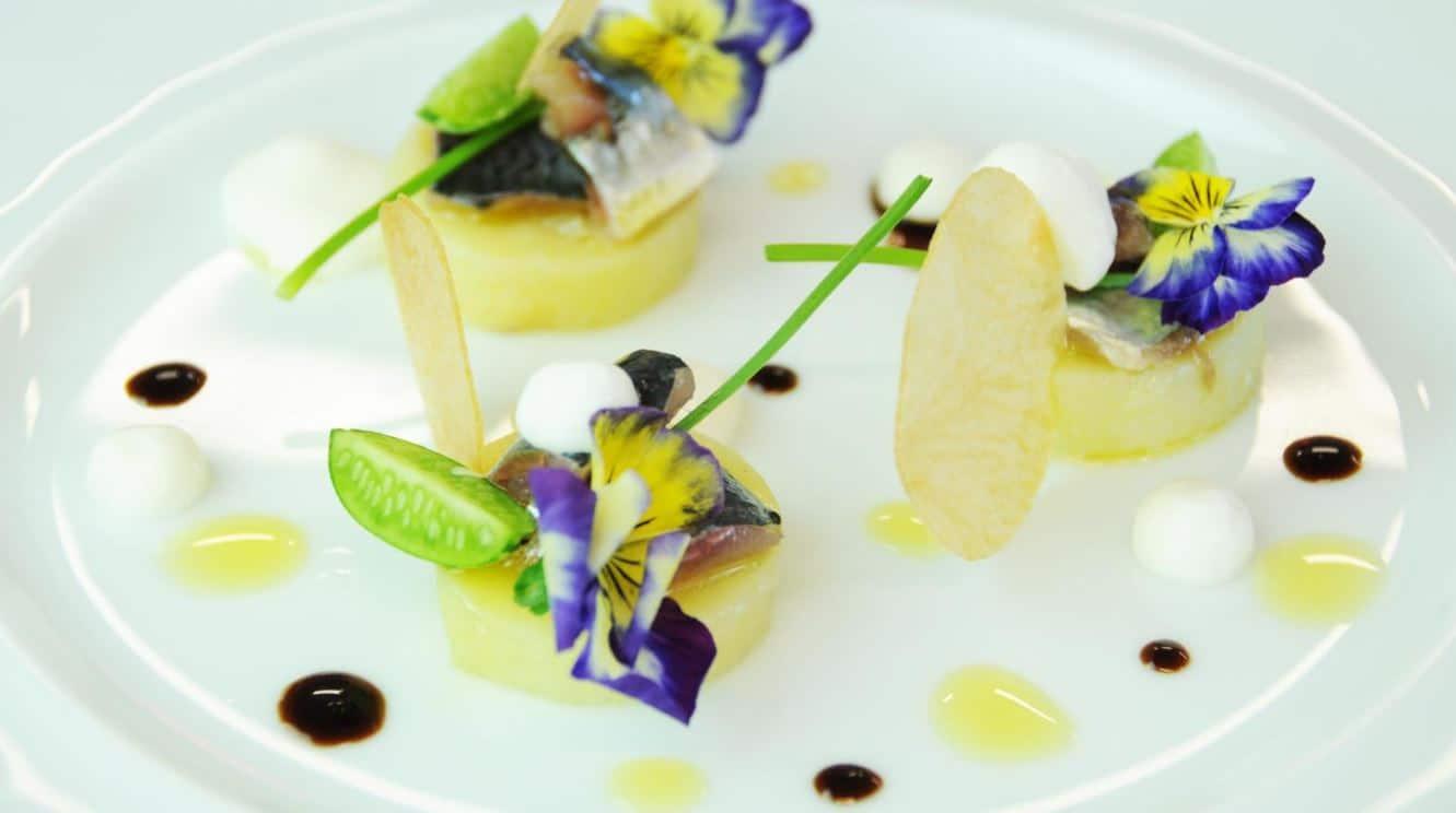 L'Aquarelle gastronomic restaurant near Royan in France