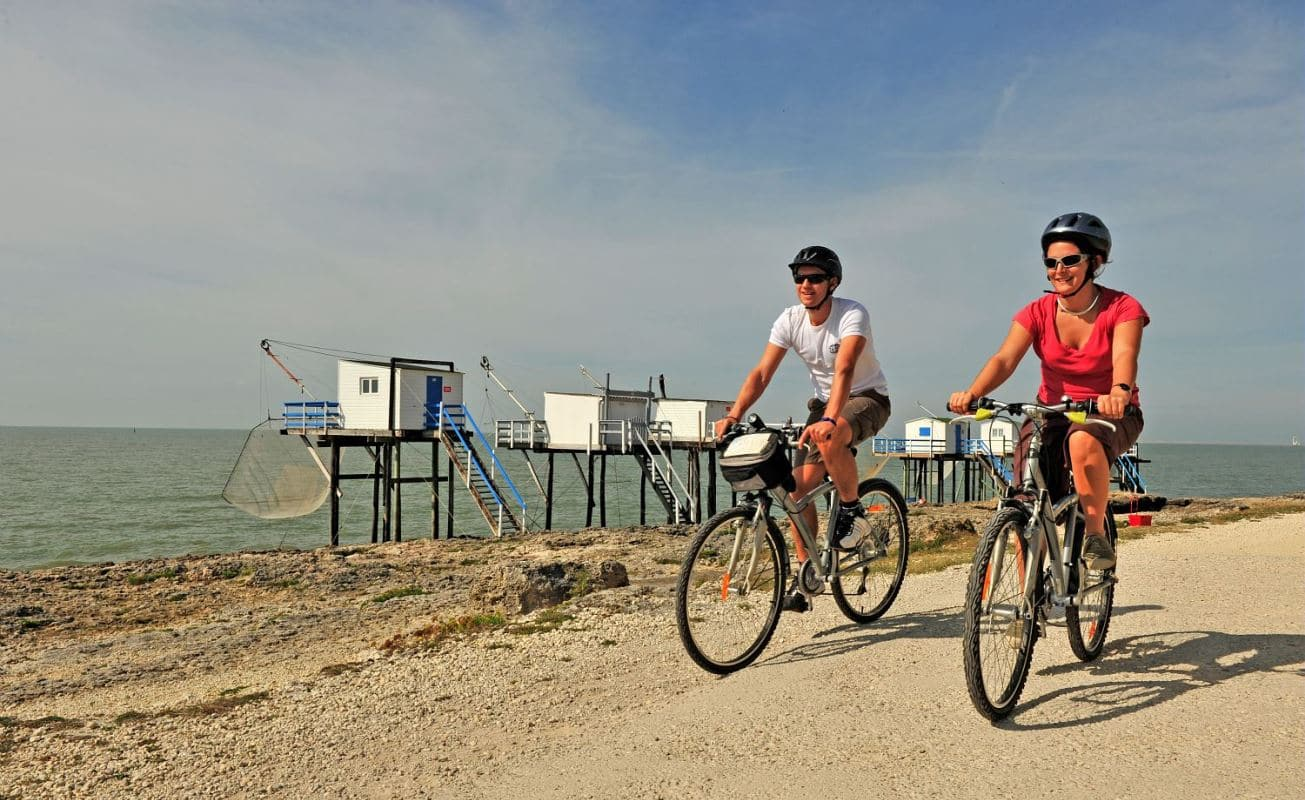 cycling routes on the French Atlantic Coast